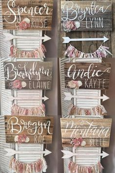 Door Hanger for girls/rustic/shabby chic/blush and gold door hanger for girls/baby shower gift/girls nursery #girlnursery #nurserydecor #ad #nurseryideas #nurserydecorideas