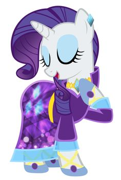Rarity - The Mane Dress Project by KibbieTheGreat.deviantart.com on @deviantART