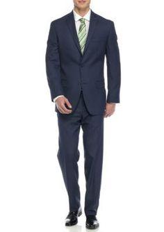 MICHAEL Michael Kors Blue Slim-Fit TIC Suit