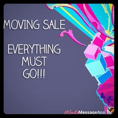 Moving out of state; all must go! See description I've just lowered all of my prices!!! Just graduated and got a job out of state. I'm moving across the country in a few weeks...whatever is not sold will be donated. I'm also having a massive local yard sale soon, so lots may be gone before too long. Take advantage of my rock bottom prices before it's too late! Your purchase will not only help me get rid of extra stuff, but the sales will help with my moving costs<3 Other