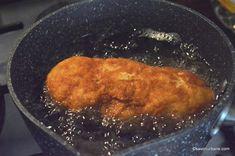 Cordon Bleu din piept de pui reteta pas cu pas | Savori Urbane Cordon Bleu, Martha Stewart, Pork, Meat, Kale Stir Fry, Pork Chops