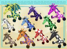 Giraffe Plushies