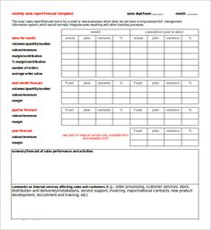 Monthly Sales Log  Template Form In Pdf Format  Logs Pdf And