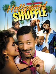 """Hollywood Shuffle: """"Tommy...you killded my brother... he was my only brother... I lovded this dude, baby!"""" Brilliant movie by Robert Townsend."""