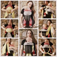 Widening narrow carrier seat | For Bjorn baby carrier...