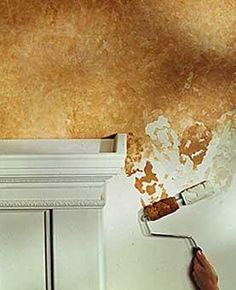 wall painting techniques | your not a very good painter it s easy to get a professional looking ...