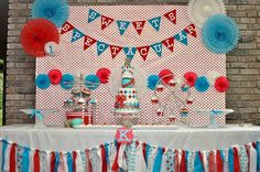 Vintage Circus/Carnival Themed Sweet Table by Simply Sweet Creations
