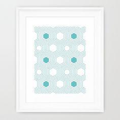 HEXMINT Framed Art Print