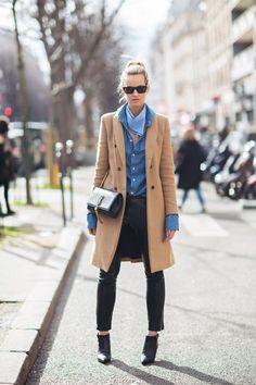 Pantaloni di pelle abbinamenti: 14 idee per voi!