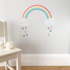 Chameleon Wall Art Rainbow Wall Sticker