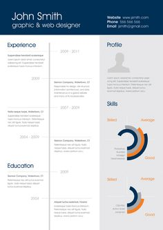 One Page Resume Template Free 25 Best Professional CV Templates 2014