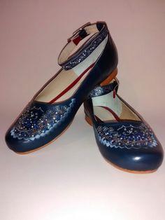 Balerina con bordado y cristales Swarosky