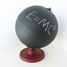 Chalkboard Globe by ConceptFurnishings on Etsy