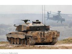 Challenger 2 MBT - British Army Firepower