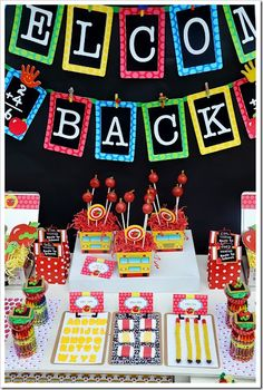 Back to School Roundup--a collection of back to school themed treats and projects.