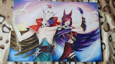 Rakan and Xayah from League of Legends