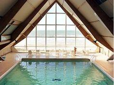 Look at where i'll be swimming tonight.. Novotel Thalassa Le Touquet, Le Touquet-Paris-Plage, France