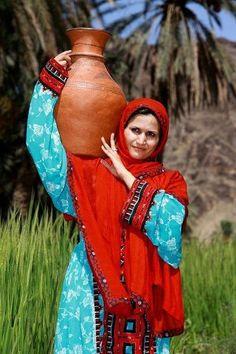Baloch woman (Balochistan)