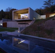 F:L architetti construct casa y in the hills of turin, italy