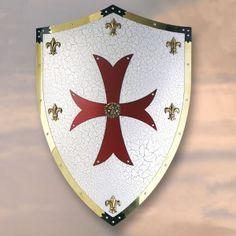 El escudo es el arma defensiva más antigua. Se utilizaba para protegerse de las armas ofensivas y de los ataques.