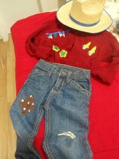Que tal customizar o traje junino do seu filho