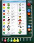 Piccolo uitprintkaarten bord met 10 rondjes
