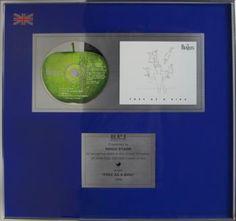 Ringo Starr's personally owned 'Free As A Bird' UK BPI Award