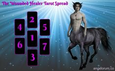 Chiron Wounded Healer Tarot Spread