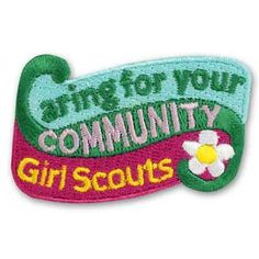 CARING FOR YOUR COMMUNITY IRON-ON PATCH