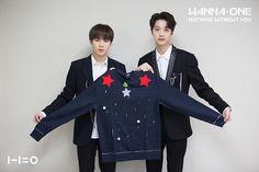 2017 Jumper Day x Wanna One Hyun Kim, Nothing Without You, Guan Lin, Produce 101 Season 2, Ong Seongwoo, Kim Jaehwan, Ha Sungwoon, Fans Cafe, Ji Sung