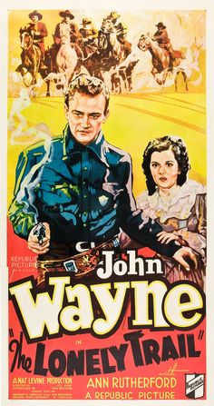 The Lonely Trail (1936) Stars: John Wayne, Ann Rutherford, Cy Kendall, Bob Kortman, Fred 'Snowflake' Toones ~ Director: Joseph Kane