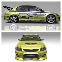 Cool Evo as seen in 2 fast 2 furious!