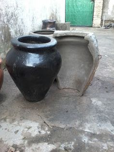 Concrete Crafts, Concrete Planters, Gardening, Outdoor, Plastering, Small Gardens, Outdoors, Lawn And Garden, Outdoor Games
