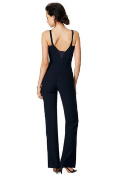 A sleek jumpsuit for an unconventional cocktail look // Jimmy Jumpsuit by GALVAN