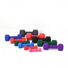 Element Fitness Neoprene Dumbbells 10 lbs, As Shown