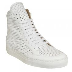 MM6 by Maison Martin Margiela perforated leather sneakers £250