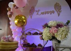 """13 Me gusta, 0 comentarios - Maria del Pilar Núñez Vega (@poshdecobox) en Instagram: """"Rosado, blanco y dorado los colores elegidos para esta hermosa celebración. Diseño @poshdecobox…"""" Baby Shower, Aloe Vera, Instagram, Christening, Sweetie Belle, Events, Weddings, Colors, Babyshower"""