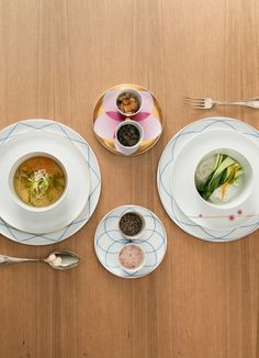 Sieger by Fürstenberg – SEVEN. Tabletop, Dining Services, Pattern Design, Architecture Design, Porcelain, Pure Products, Ethnic Recipes, Tablewares, Food