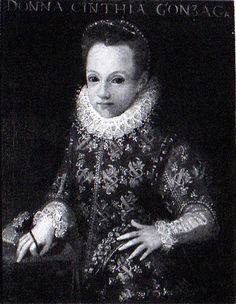 Ritratto Infante di Gridonia Gonzaga, primogenita del Marchese di Castiglione Rodolfo Gonzaga Rodolfo Gonzaga (1569-1593)