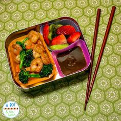 Bento lunch for an adult in a Lunchbot Uno!