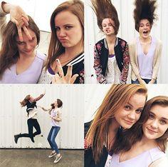 Mackenzie Lintz+Grace Victoria Cox