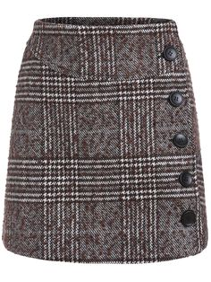 To find out about the Khaki Buttons Houndstooth Skirt at SHEIN, part of our latest Skirts ready to shop online today! Modest Fashion, Fashion Dresses, Houndstooth Skirt, Mode Vintage, Elegant Outfit, Skirt Outfits, Latest Fashion Trends, Stylish Outfits, Fashion Looks
