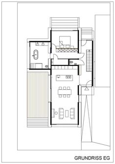 House Layouts, House Floor Plans, Small Living, Modern Architecture, Tiny House, Cabin, Flooring, How To Plan, Great Places