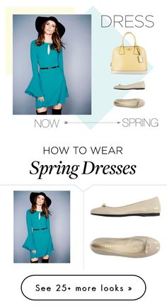 """""""now & spring"""" by kmbloodworth on Polyvore featuring Lipsy and Prada"""