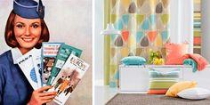 Interiør inspirert av 60-tallet Interiør inspirert av 60-tallet