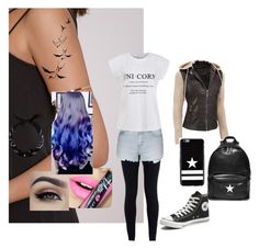 """""""Untitled #73"""" by wndt on Polyvore featuring Fiebiger, NIKE, Topshop, Ally Fashion, Converse, Black Rivet, Givenchy, women's clothing, women and female"""
