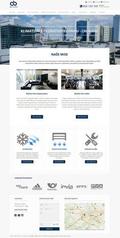 Redesign webových stránek pro společnost AB Clima, která se nově zaměřuje na azerbajdžánský trh. Více naleznete na http://abclima.cz/