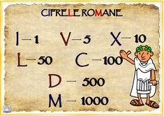 Roman Numerals, Symbols, Teaching, School, Peanuts Comics, Embroidery, Projects, Log Projects, Needlepoint