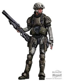Halo Army Ranger explorations for Halo: REACH, Isaac Hannaford Sci Fi Armor, Sci Fi Weapons, Odst Halo, Halo Armor, Halo Series, Halo Game, Female Armor, Female Soldier, Starship Troopers