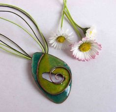 Check out this item in my Etsy shop https://www.etsy.com/listing/228903235/lifespiral-cloisonne-enamel-pendant-in